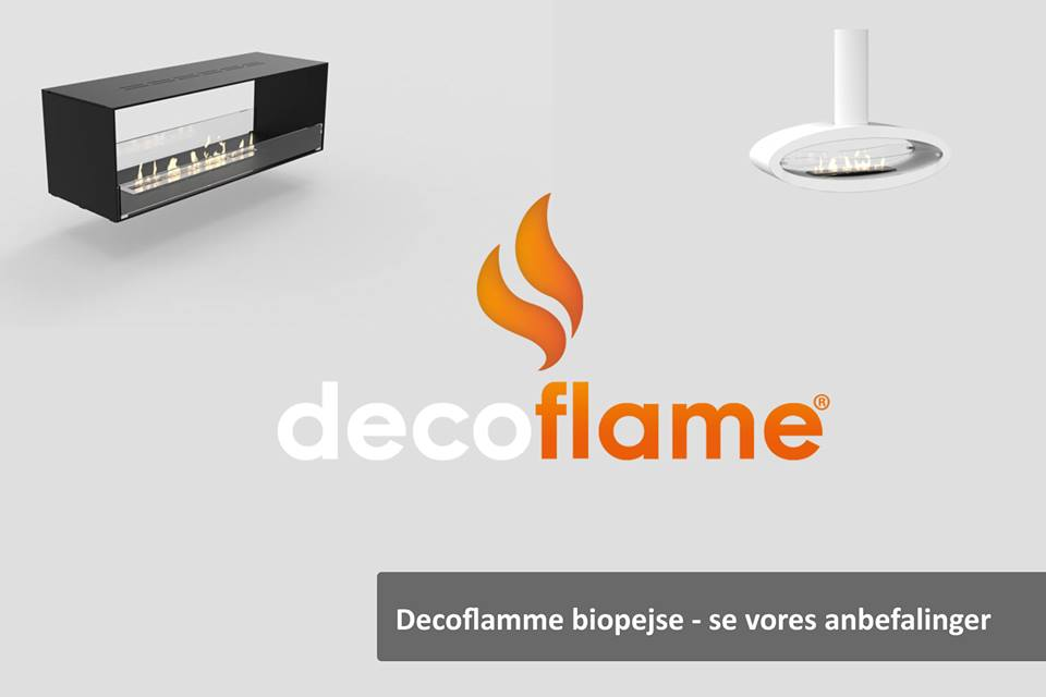 De bedste Decoflame-biopejse